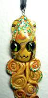 Kitty Cat Squid Charm