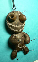 Mad Voodoo Doll Necklace