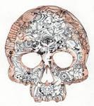 Nightmare Skull by BlackMagdalena