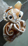 Fighting Conch Octopus Magnet