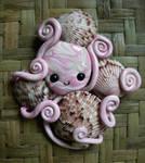 Octopus Shell Hoarder Magnet