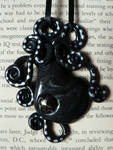 Onyx Octopus Necklace