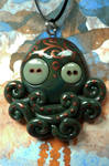 Green and Copper Octopus