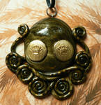 Royal Eyes Octopus Necklace