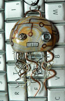 Evil Robot Jellyfish by BlackMagdalena