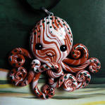 Woodland Octopus Necklace Charm