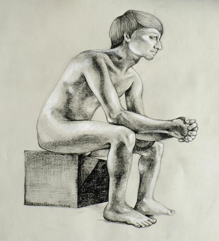 Box Pose by BlackMagdalena