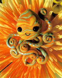 Sunburst Octopus by BlackMagdalena