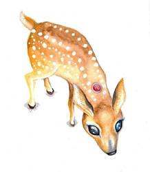 Dream Deer by BlackMagdalena
