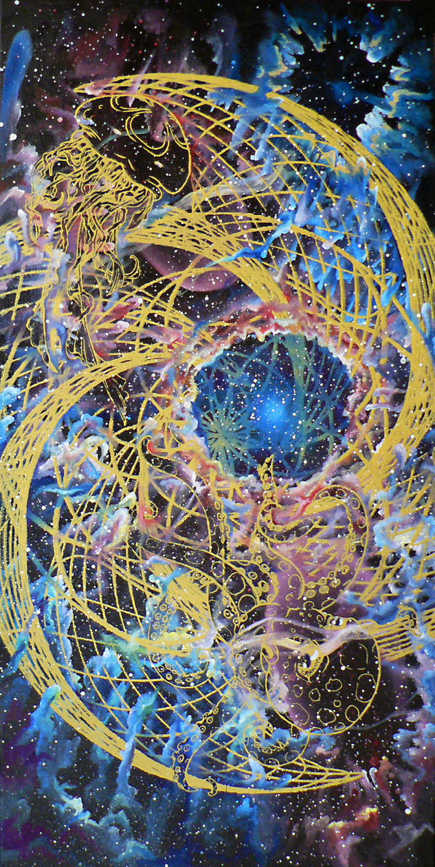 Quantum Foam 1/2 by BlackMagdalena
