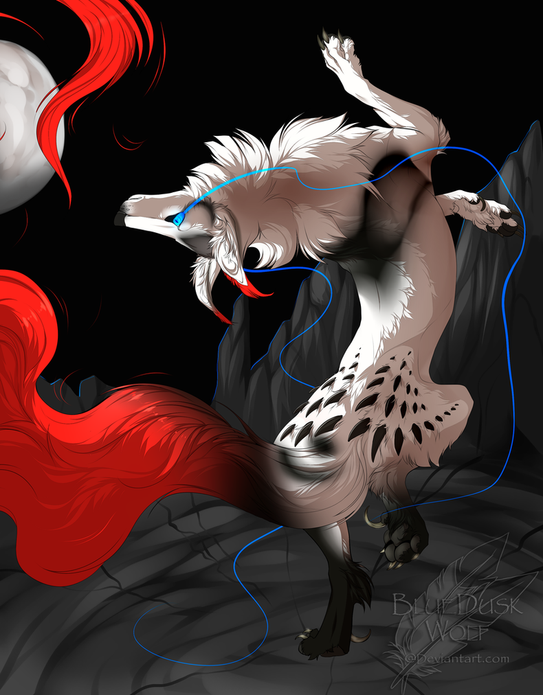 .:DanCe Of The ReD tail:. by BlueDuskWolf