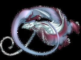 Stars Fish Dragon by MykalaBlue