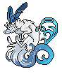 Pixel Icon Blue by MykalaBlue