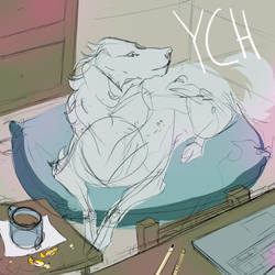 CANINE YCH (closed) by MykalaBlue
