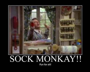 Sock MONKAY by lavie-chan-lady