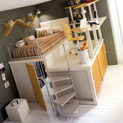 Popular Coolest Bunk Beds In The World Clever Woodworking Design