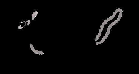 Running Chipmunk: Free clipart / line-art