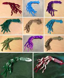 Crochet Amigurumi Squids!