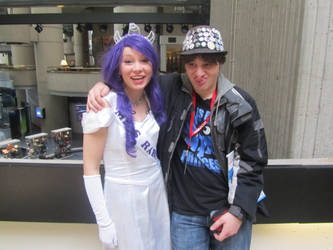 rarity cosplay funny faces