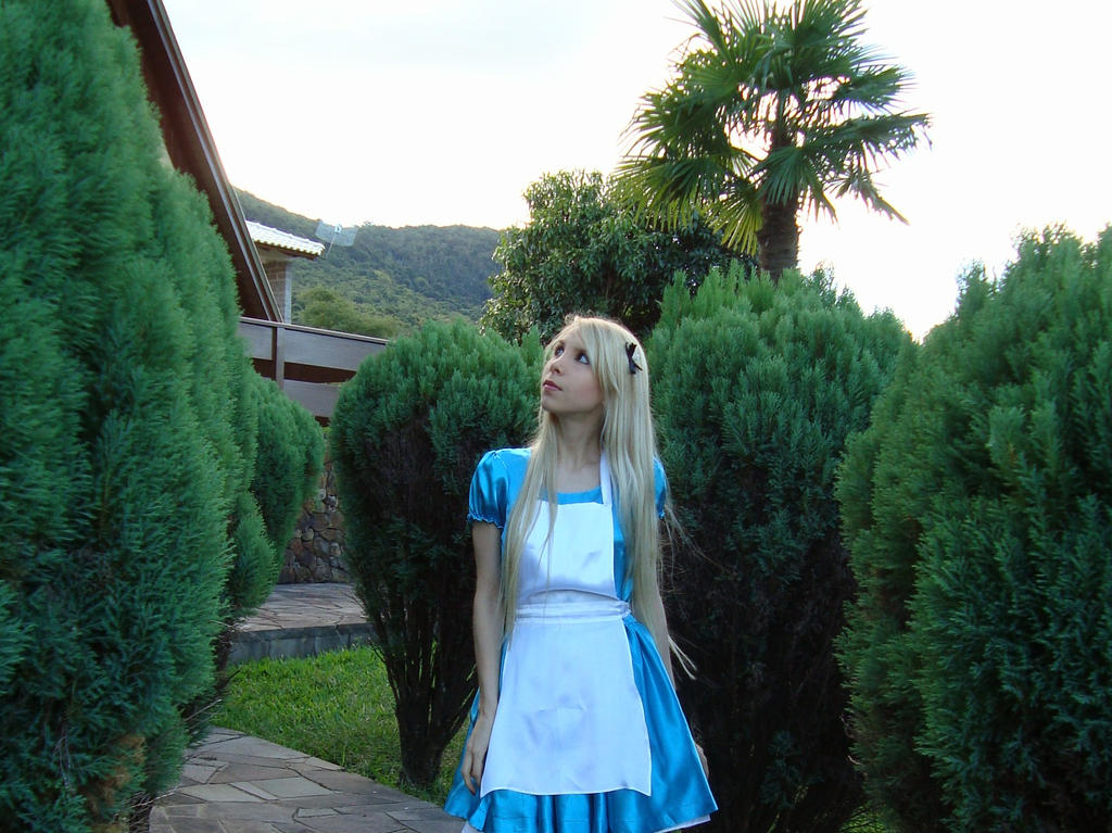 How do you know I'm mad? - Alice in Wonderland by Brynhild-Undomiel