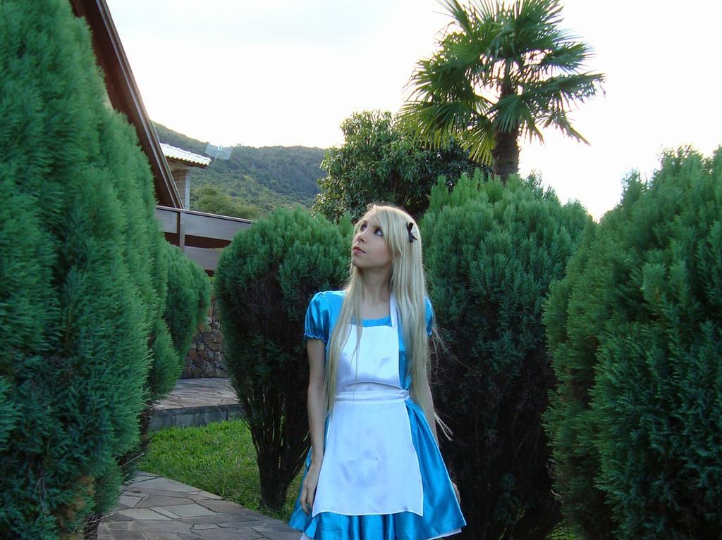 How do you know I'm mad? - Alice in Wonderland by Brynhild-Undomiel