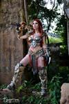 Female Barbarian from Diablo 3 (Sonya)