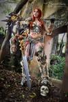 Barbarian from Diablo 3 by  Brynhild Cosplay
