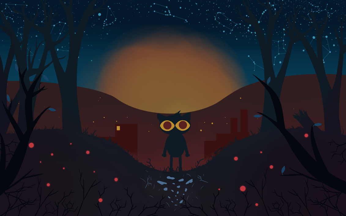 Wonderful Wallpaper Night Desktop - night_in_the_woods__desktop_wallpaper_by_toastercrab-db8ena4  Trends.png