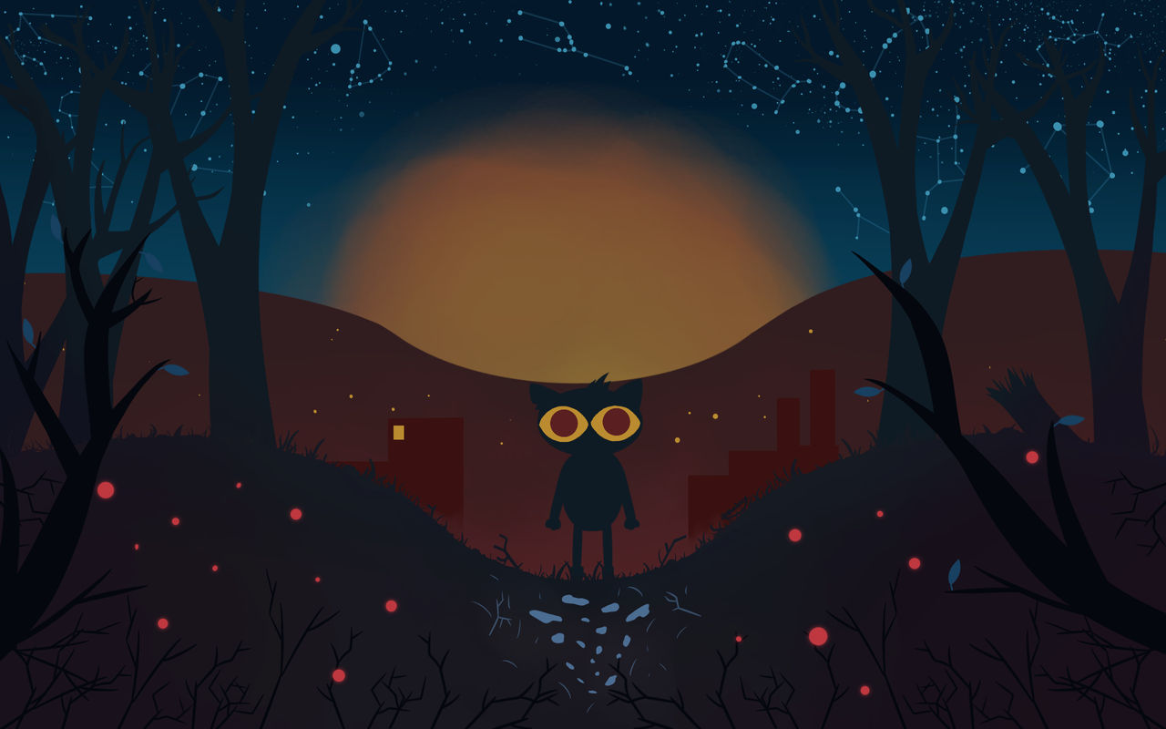 Night In The Woods Desktop Wallpaper By Toastercrab On Deviantart