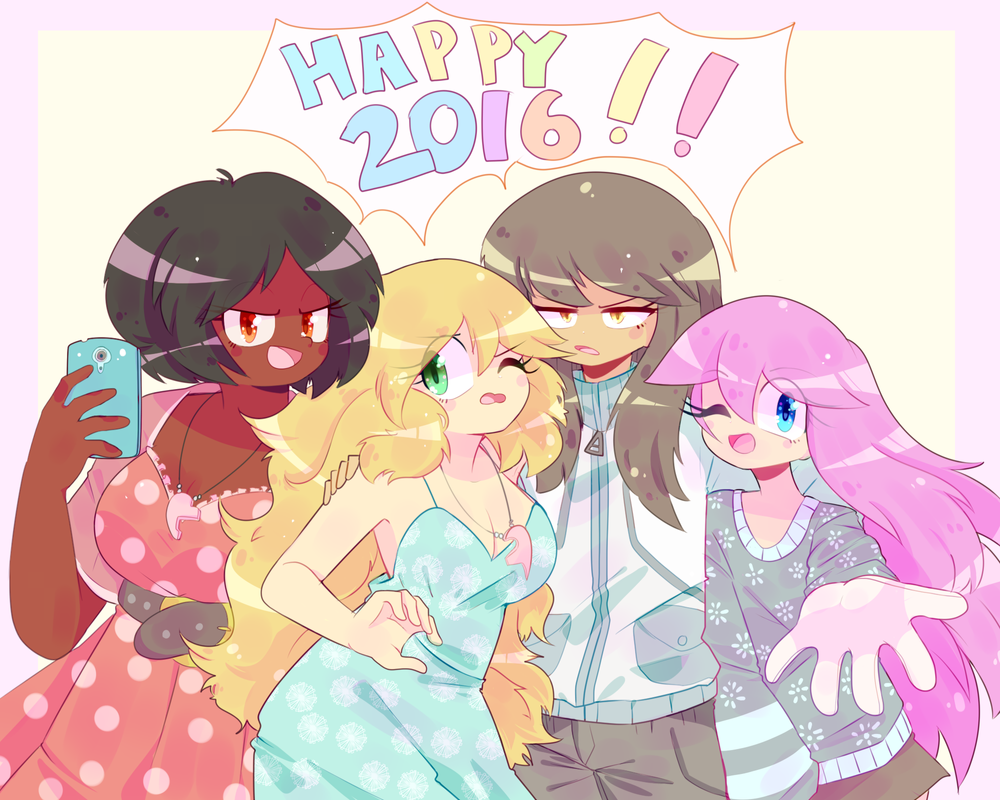 Happy 2016 !! (speedpaint) by MisterCakerz