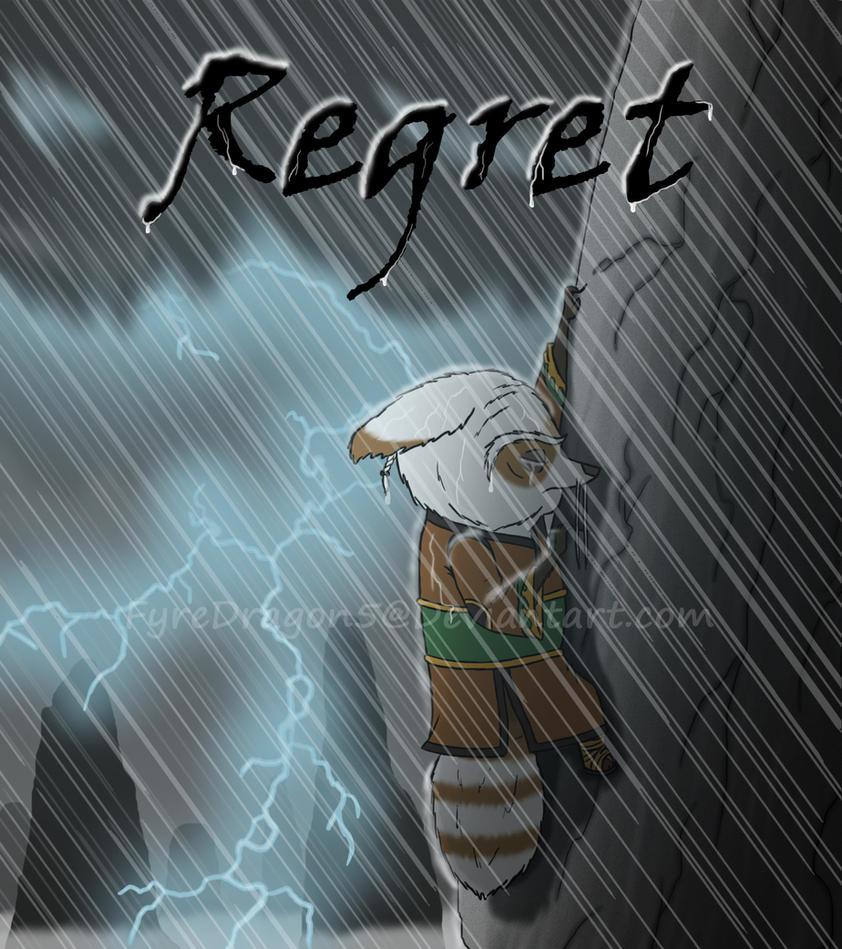 Regret Cover by FyreDragon5