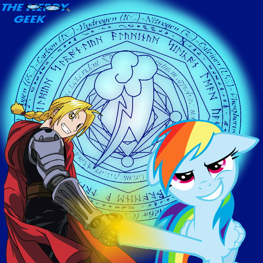 Full Rainbow Alchemist! An Epic Crossover! By TheNerdyGeek