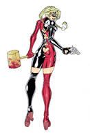 Harley Quinn by Fhiacha