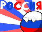 RUSSIA countryball wallpaper
