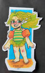 Swimsuit Denkou sticker