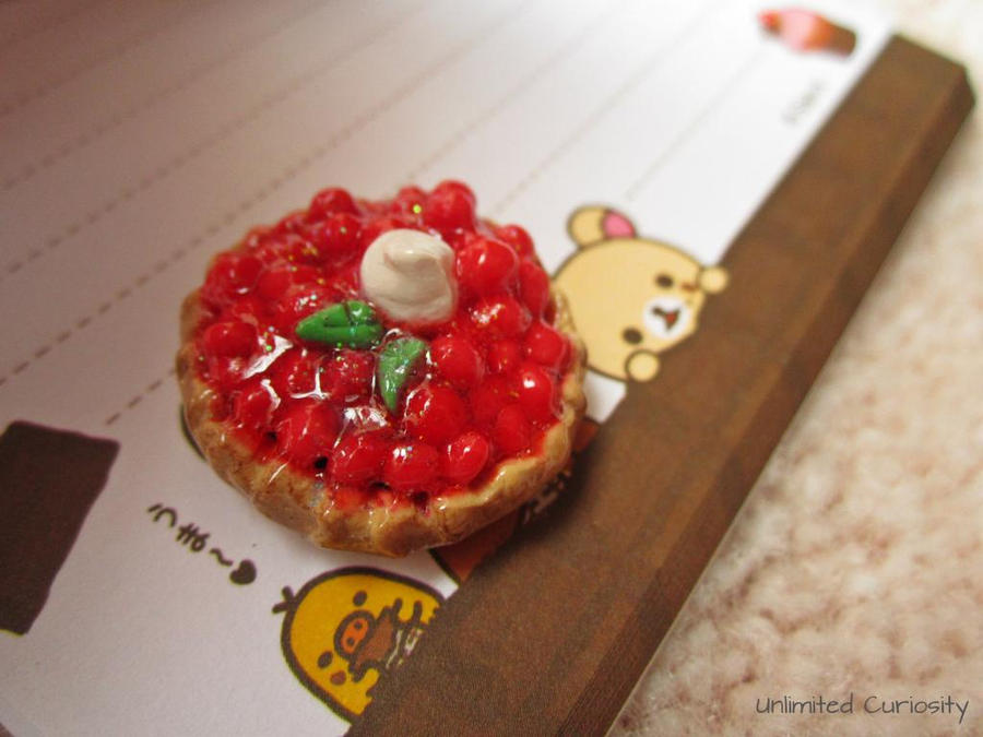 Cranberry Tart by UnlimitedCuriosity