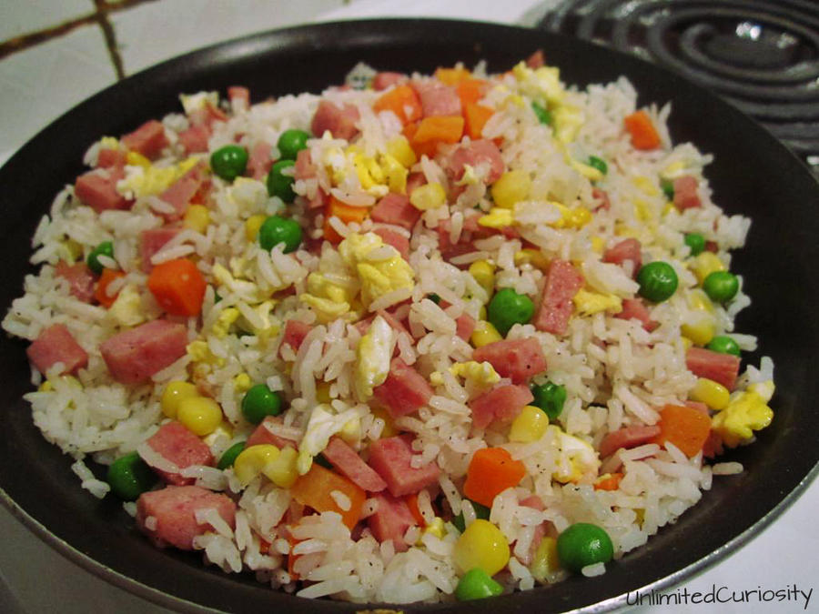 ... ume and spam fried rice how to make spam fried rice spam fried rice