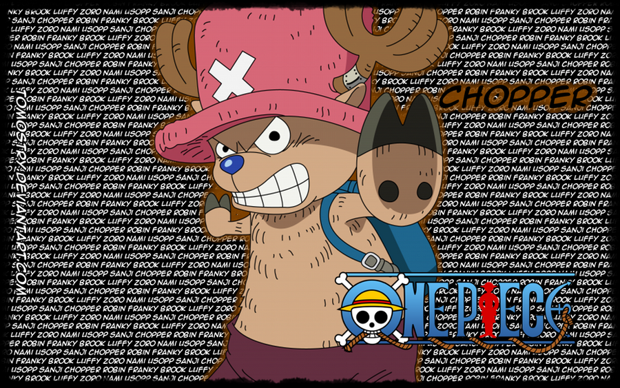 Chopper Straw Hat Pirate - OP by TomOstry on DeviantArt