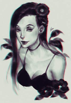 Black Petal by naomicoco