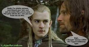 In which Legolas teaches