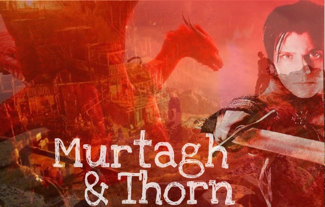 Murtagh and Thorn by Greeneyesmetblack on DeviantArtEragon Murtagh And Thorn