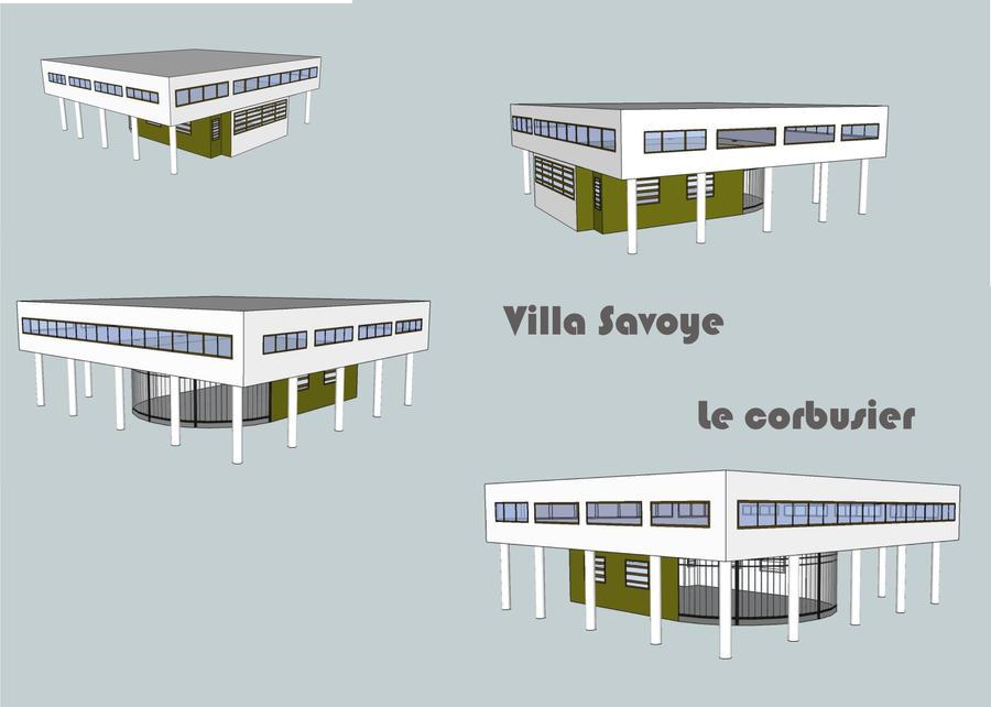 Villa Savoye - My version by rizspapir on DeviantArt