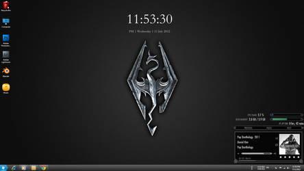 Skyrim Desktop by BenSow