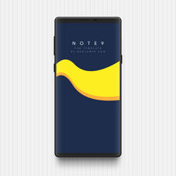 [WIP] Galaxy Note 9 PSD Template