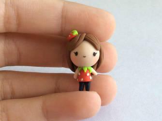 Super Cute Strawberry Chibi :D by AlphaChoconess95