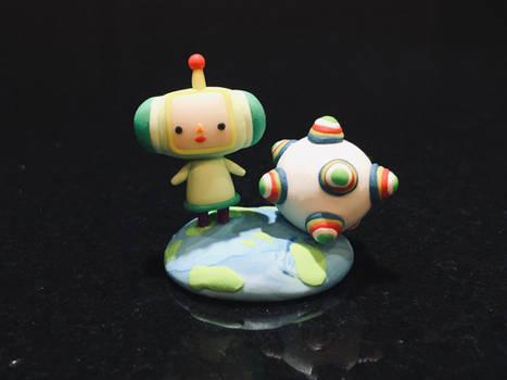 Miniature Katamari Figurine