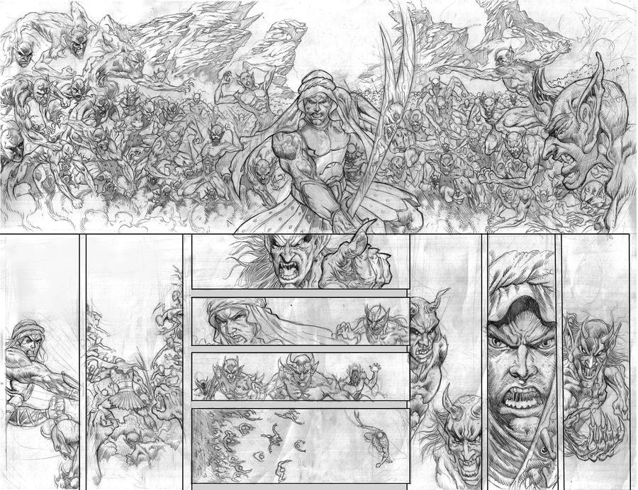 Jinn Worriors page 20 - 21 by clickstu75