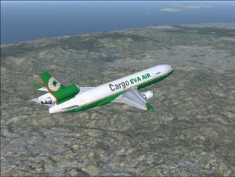 EVA Air Cargo by Chris-5068
