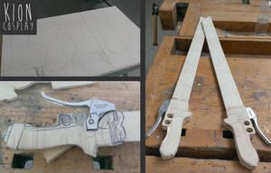 SnK -3d Gear Swords WIP3 by Nami01