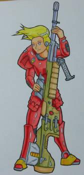 Power Armour Doodle